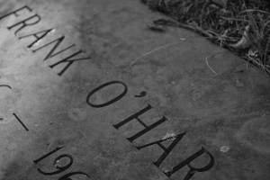 Frank O'Hara's grave