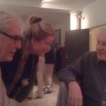 Mark Strand, Star Black & John Ashbery