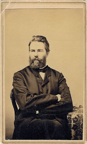 Post image for Herman Melville Drinks Your Milkshake