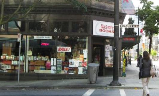 Post image for Indie Bookstores: Vancouver
